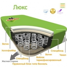 "Матрац пружинный ""Люкс"" 12 см ТМ Багира"