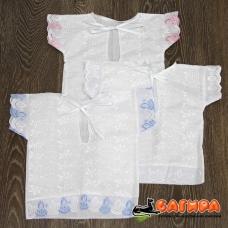 Крестильная рубашечка 013 ТМ Багира